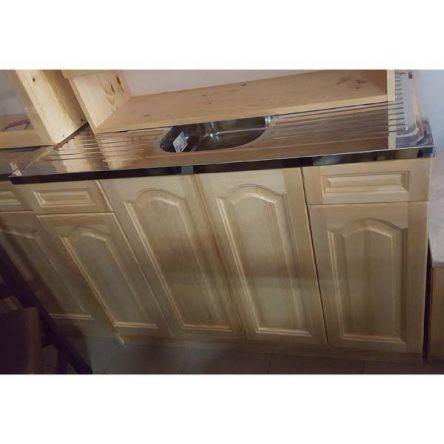 кухненски шкаф 120см. от чам с мивка