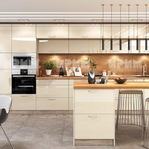 Кухня с остров Сити 963-мебелна къща Мура