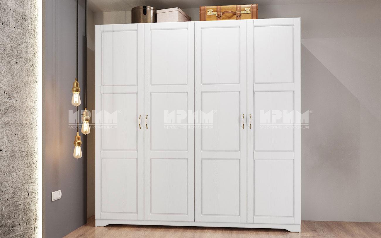 Четирикрилен гардероб Romance-мебелна къща Мура